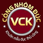 logo cổng nhôm đúc vũ chấn khang